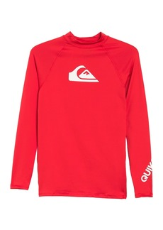 Quiksilver All Times Long Sleeve Surf Shirt