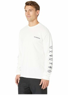Quiksilver Aztech Fish Long Sleeve T-Shirt