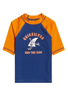 Boy's Quiksilver Kids' Bubble Trouble Short Sleeve Rashguard