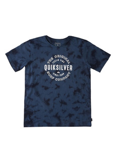 Toddler Boy's Quiksilver Kids' Out Of Air Tie Dye Graphic Tee