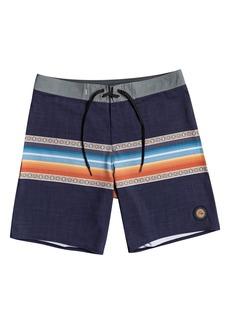 Boy's Quiksilver Kids' Surfsilk Sun Faded Board Shorts