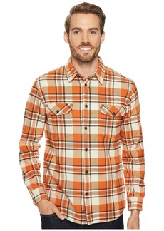 Quiksilver Cedar Island Long Sleeve Flannel Shirt