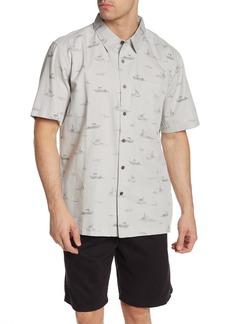 Quiksilver Channel Cruising Short Sleeve Comfort Fit Shirt