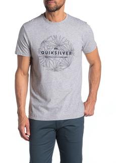 Quiksilver Classic Bob Brand Logo T-Shirt