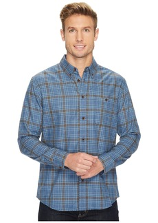 Quiksilver Cortez Straight Long Sleeve Flannel Shirt
