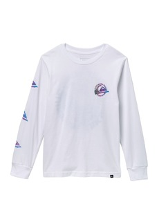 Quiksilver Faded Seas Long Sleeve Tee (Big Boys)