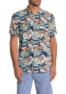 Quiksilver Feeling Fine Short Sleeve Modern Fit Shirt
