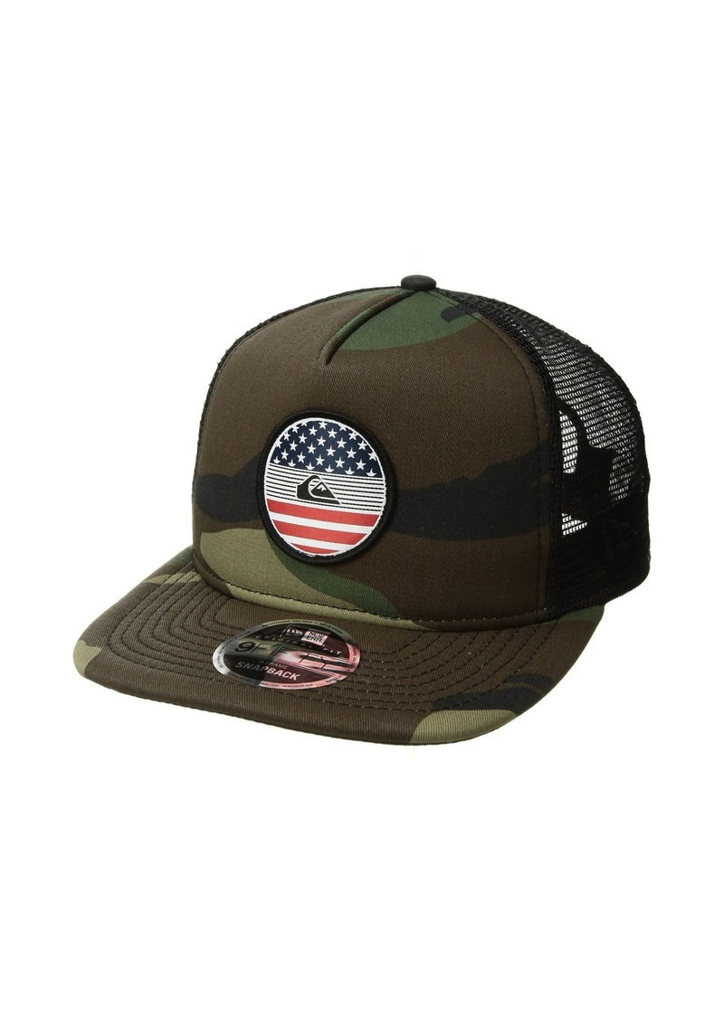 1bd423da Quiksilver Flag Trucker Hat Now $24.99