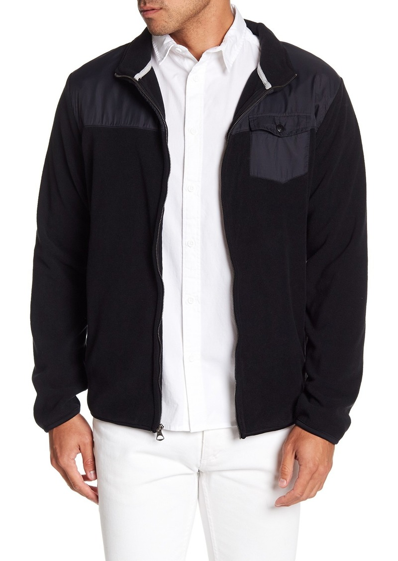 Quiksilver Fleece Knit Front Zip Jacket