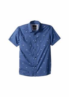 Quiksilver Fuji Mini Motif Short Sleeve Shirt (Toddler/Little Kids)