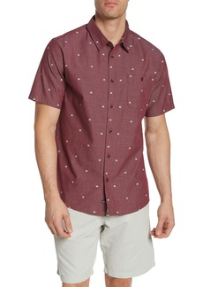 Quiksilver Geo Short Sleeve Regular Fit Shirt