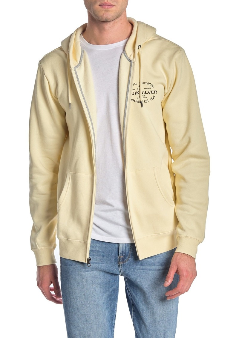 Quiksilver Hunters Patch Walford Zip Up Hoodie