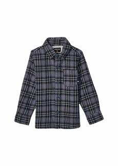 Quiksilver Inca Gold Check Long Sleeve Shirt (Toddler/Little Kids)