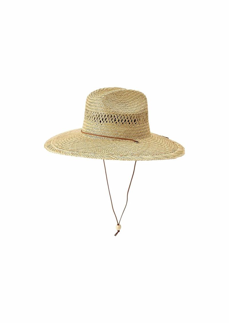Quiksilver Jettyside Straw Lifeguard Hat