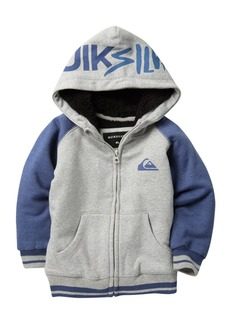 Quiksilver Juwu Faux Shearling Lined Hoodie (Toddler & Little Girls)
