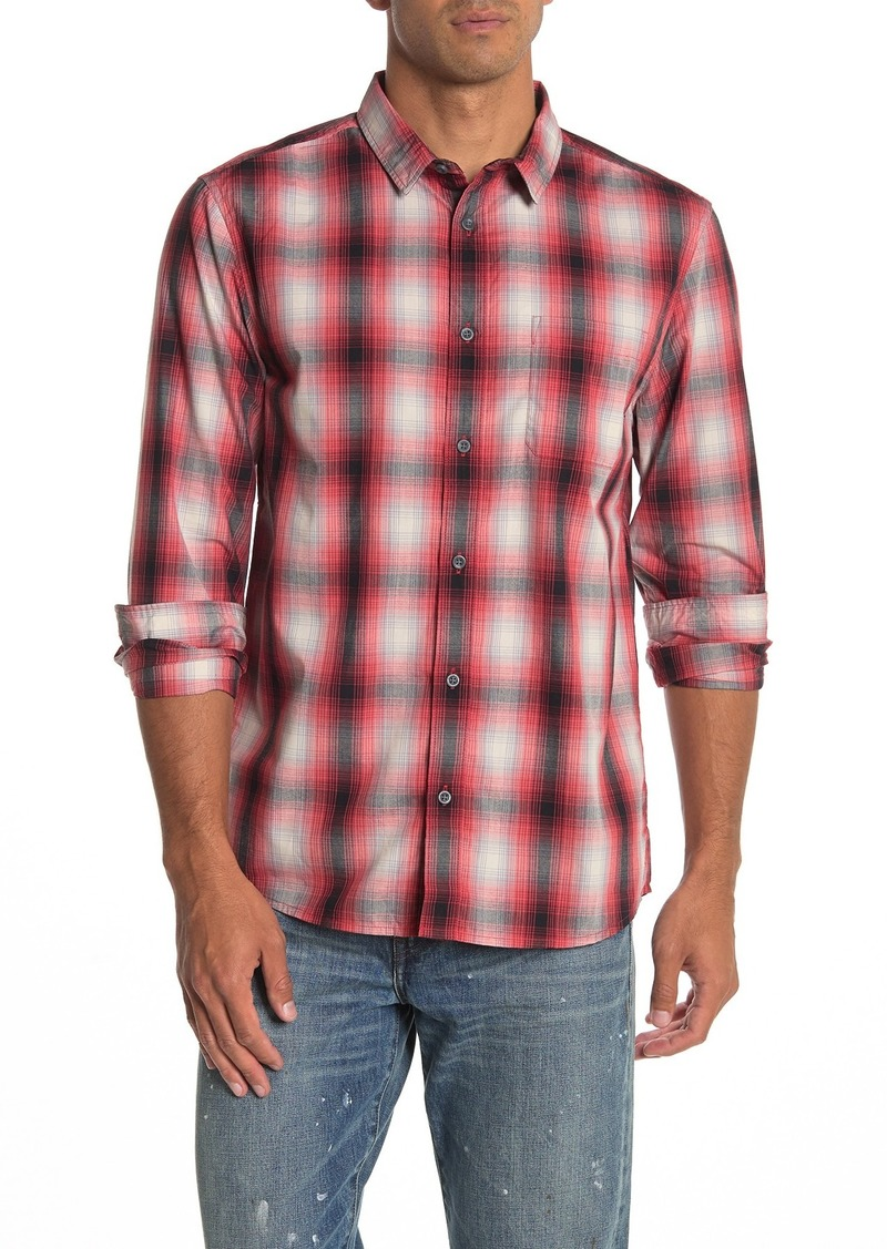 Quiksilver Kyoto Plaid Modern Fit Shirt