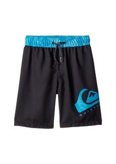 Quiksilver Lava Logo Volley Shorts (Big Kids)