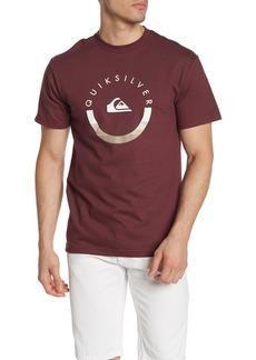 Quiksilver Logo Crew Neck Regular Fit Tee