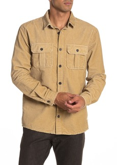Quiksilver Melton Minds Corduroy Regular Fit Shirt