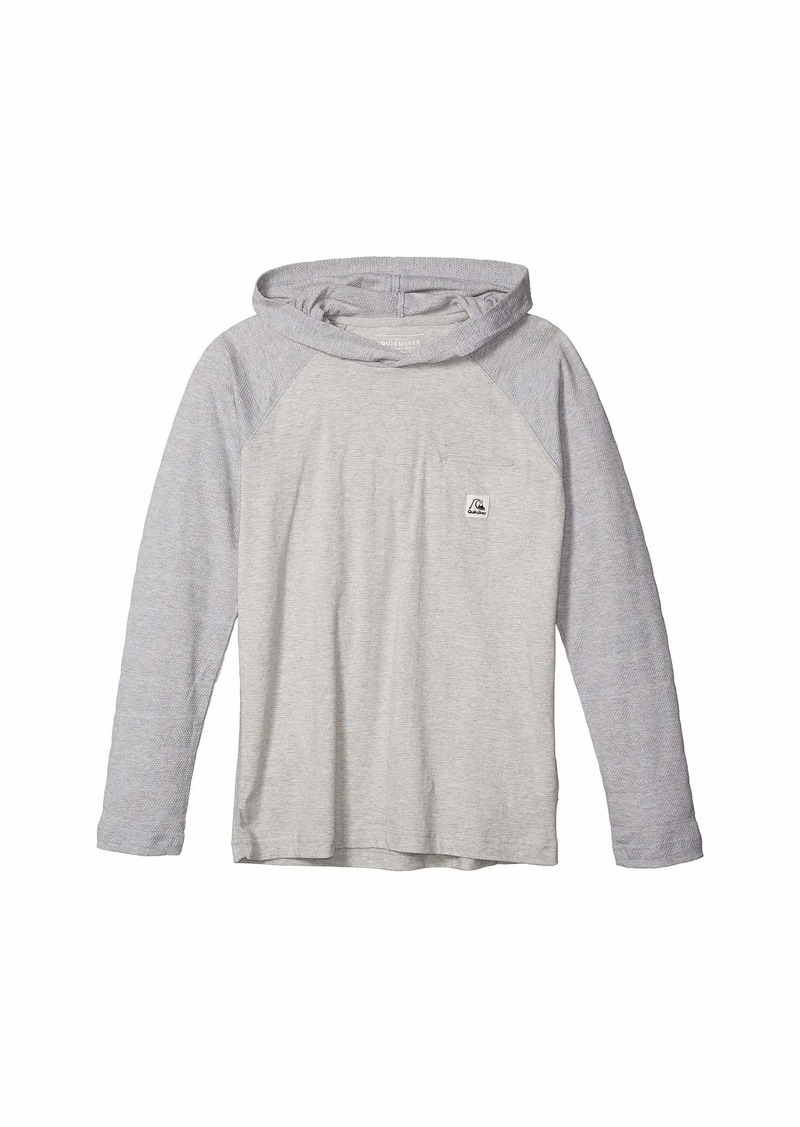 Quiksilver Boys Big Michi Hood Youth Knit Crew