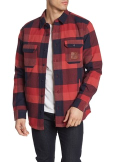 Quiksilver Miho Stones Plaid Regular Fit Shirt Jacket