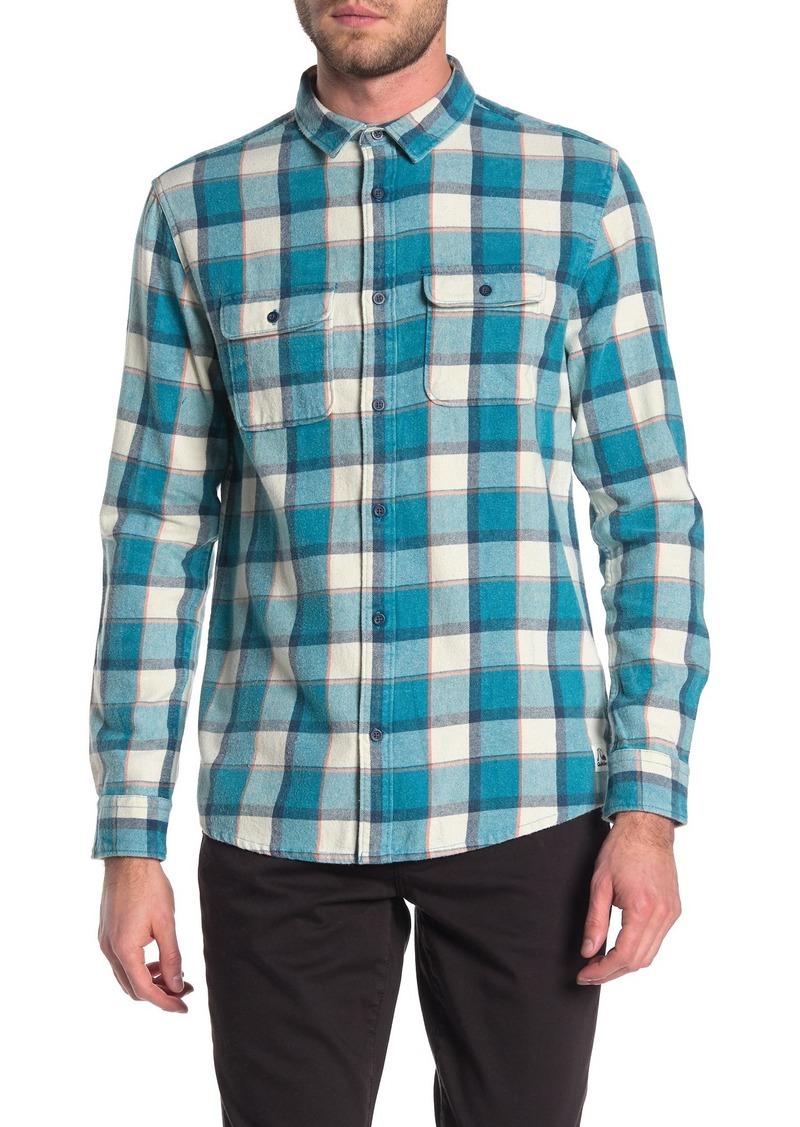 Quiksilver Mitta Tang Long Sleeve Button Down Shirt