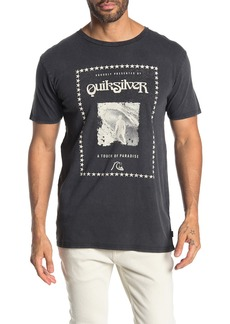 Quiksilver Modern Fit Locals Paradise Short Sleeve Tee