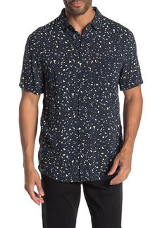 Quiksilver Modern Fit Printed Short Sleeve Shirt