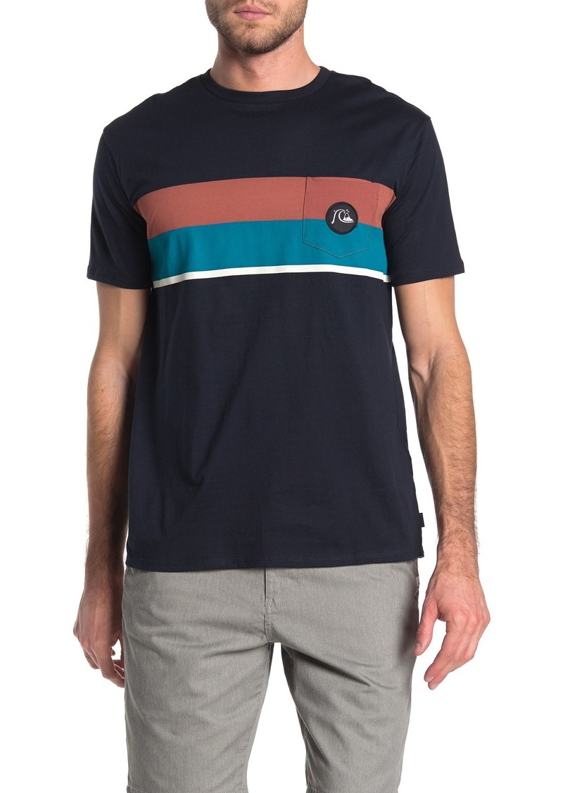 Quiksilver Multiply Stripe Short Sleeve Tee