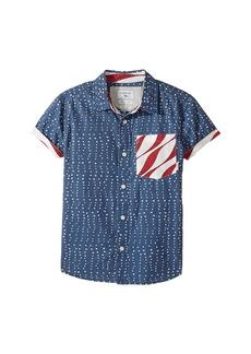 Quiksilver New Merica Short Sleeve Shirt (Big Kids)