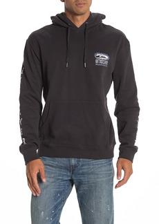 Quiksilver OG Graphic Logo Fleece Pullover Hoodie