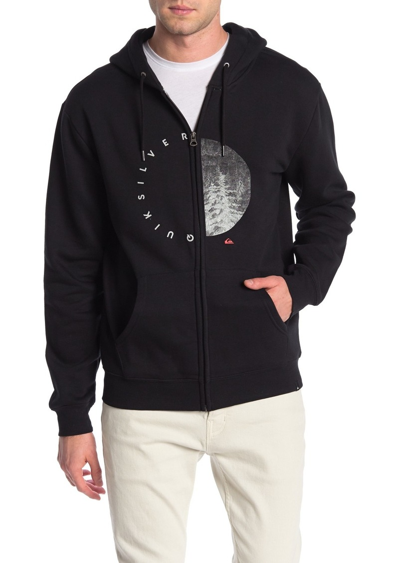 Quiksilver Pine Circle Walford Zip Up Hoodie