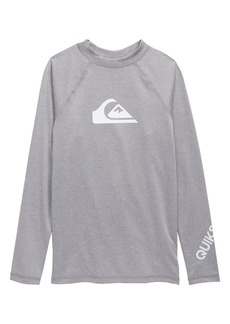 Quiksilver All Time Long Sleeve Surf T-Shirt (Big Boy)