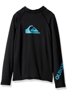 Quiksilver Boys' Big Time Long Sleeve Surfshirt  XL/16