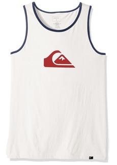 Quiksilver Big Boys' Short Sleeve Logo Tank Top