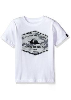 Quiksilver Big Boys' Short Sleeve Logo Tee