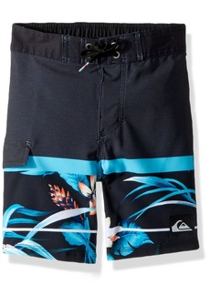 Quiksilver Big Boys' Slab Island Kids Swim Trunks