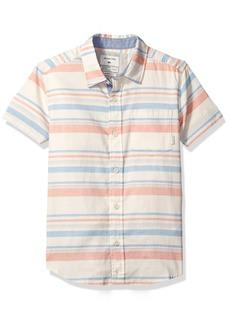 Quiksilver Big Boys' Aventail Ss Woven Shirt