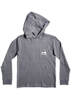 Quiksilver Big Boys Striped Cotton Hoodie