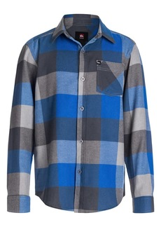 Quiksilver 'Box' Plaid Sport Shirt (Big Boys)