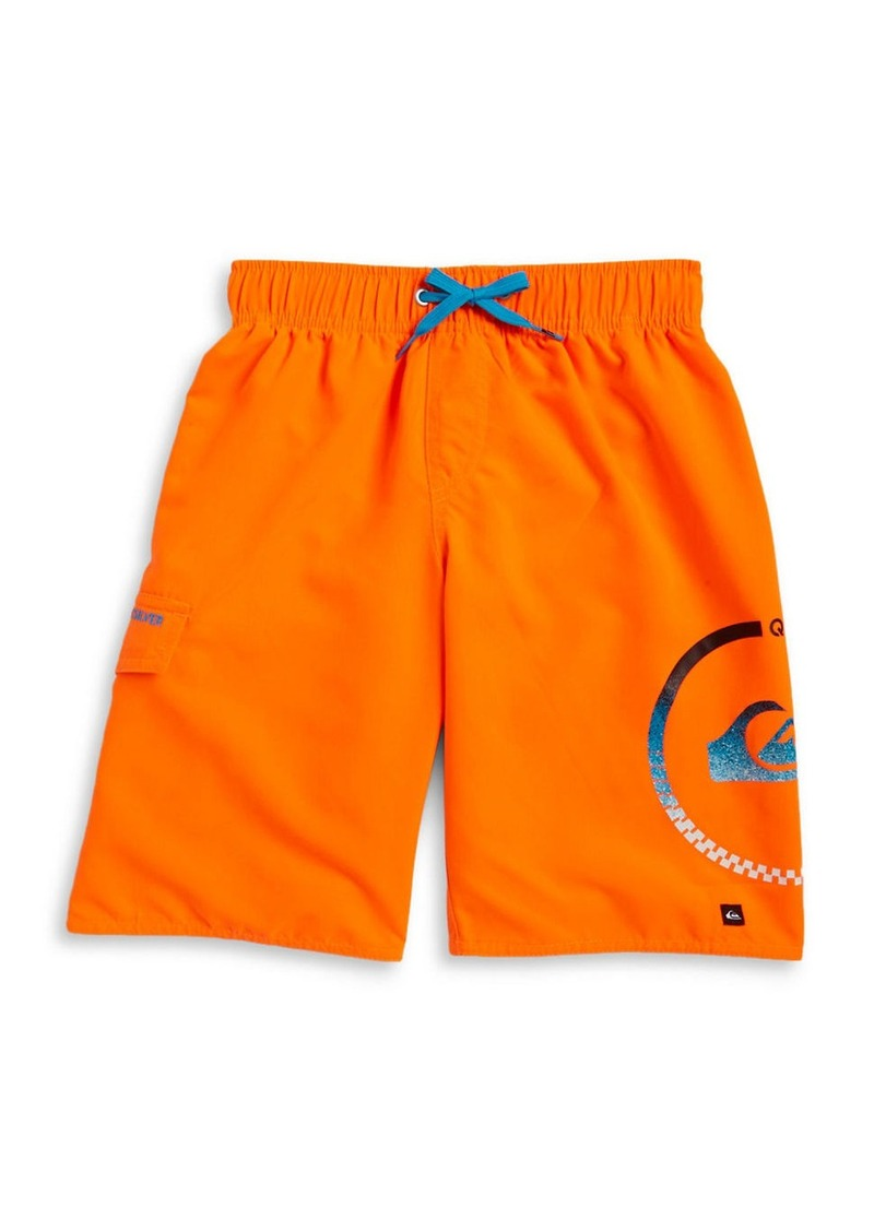 QUIKSILVER Boys 8-20 Logo Graphic Swim Shorts