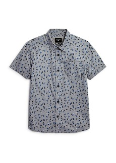 Quiksilver Boys' Akan Waters Woven Shirt - Big Kid