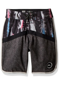 Quiksilver Boys' Big Highline Fortune Youth 17 Boardshort Swim Trunk