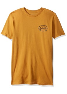 Quiksilver Boys' Big Living ON The Edge Youth TEE Shirt inca Gold