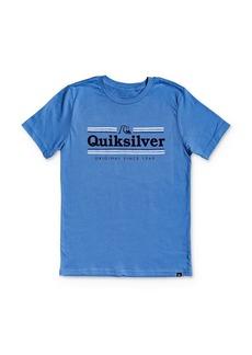 Quiksilver Boys' Logo Tee - Big Kid