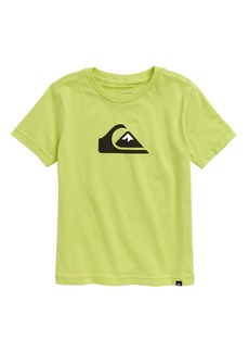 Quiksilver Comp Logo Graphic Tee (Toddler & Little Boy)
