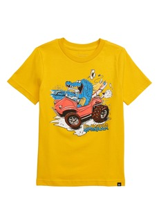 Quiksilver Crocs N' Surf Graphic T-Shirt (Toddler Boys & Little Boys)