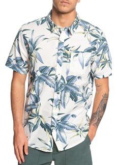 Quiksilver Deep Bay Print Woven Shirt