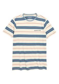 Quiksilver Dera Steps Stripe T-Shirt (Big Boys)