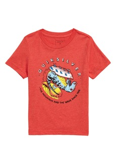 Quiksilver Dino Surf Graphic T-Shirt (Toddler Boys & Little Boys)